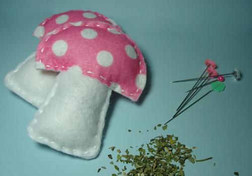 Felt Mushroom Toy