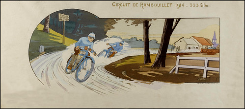1914 Alcyon Motos racing on the Circuit De Pambouillet by bullittmcqueen