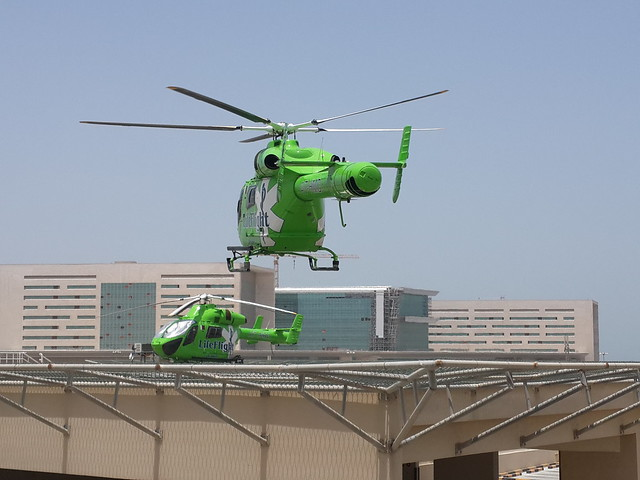 Life Flight of Hamad General Hospital , Doha - Qatar