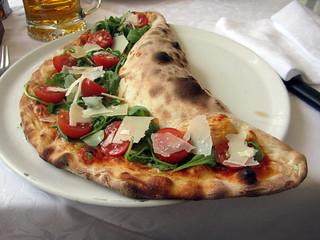 Succulente pizza...