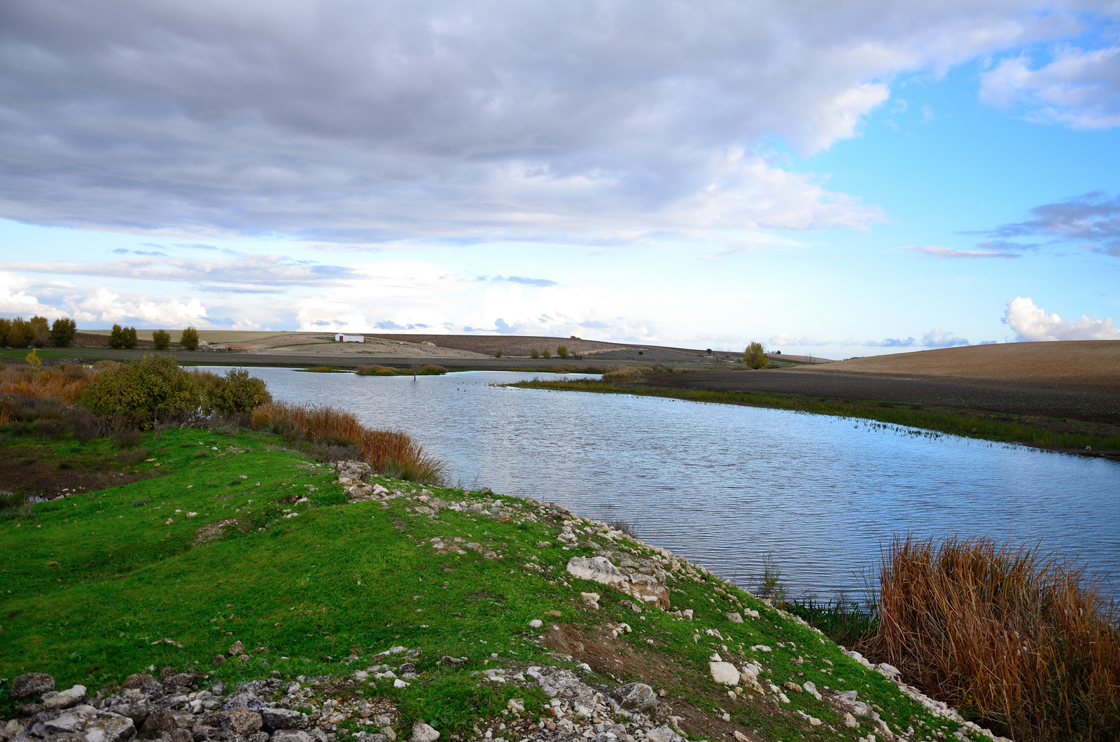 Río Guadiana en su curso alto. Autor, Roberto