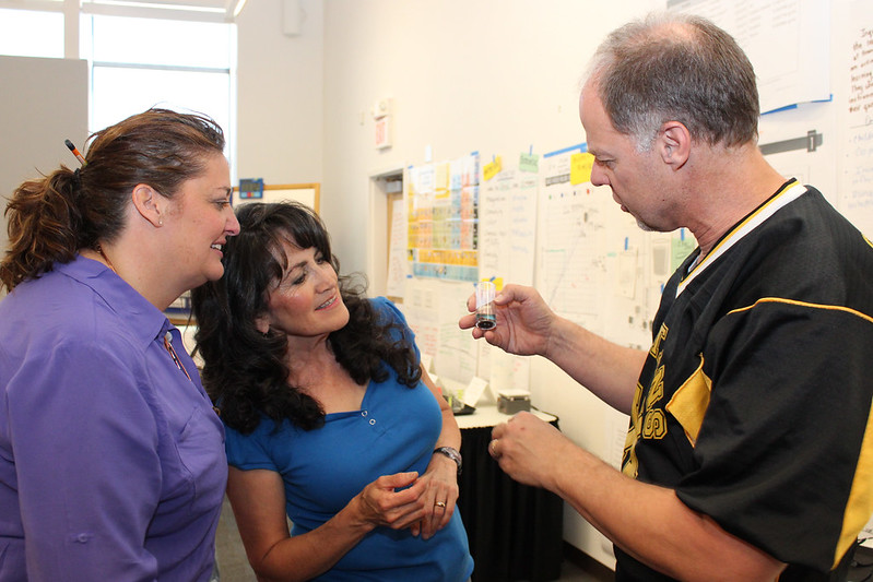 Teachers expand their Science, Technology, Engineering and Math (STEM) skills during a pilot workshop