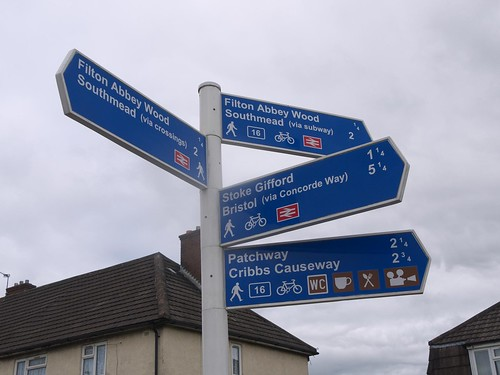Signs in South Gloucestershire 02