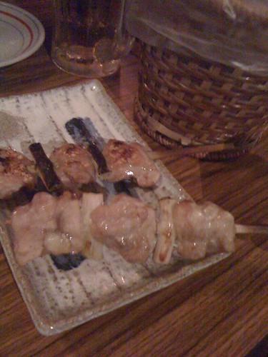 鹽烤雞肉蔥串 ($100)@台北大村武串燒居酒屋