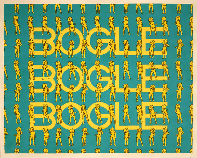 Bogle, Acrylic & Ink on Paper, 50 cm x 40cm