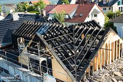 Dachstuhlbrand Oberwalluf 18.07.13