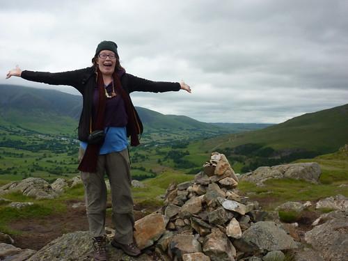 Catherine celebrates her second Wainwright of the holiday