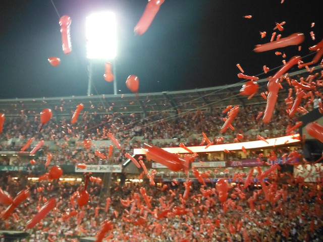 Carp Balloons flying