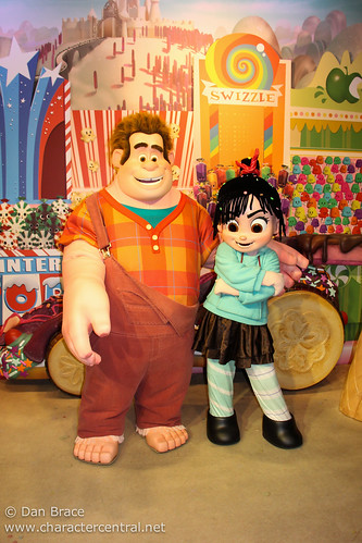 Meeting Ralph and Vanellope