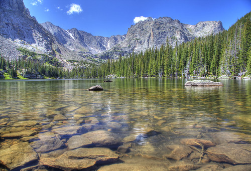 Loch Lake, Rocky Mountain National Park