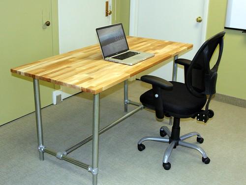 Adjustable Height Desk - Sitting Position