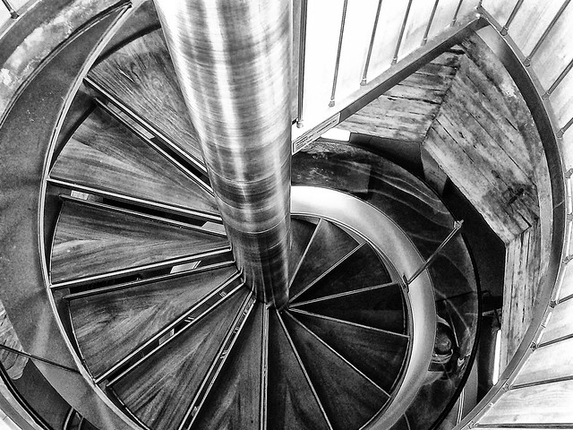 Escaleras Torre del Pilar ( Zaragoza )