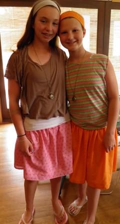 Sister skirts