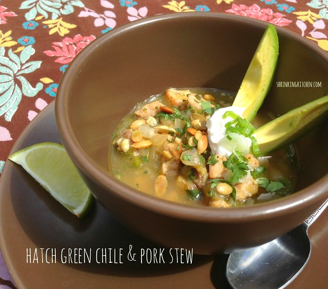 hatch green chile & pork stew