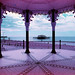 The Pier via the Bandstand / Lomography Purple by rob orchard