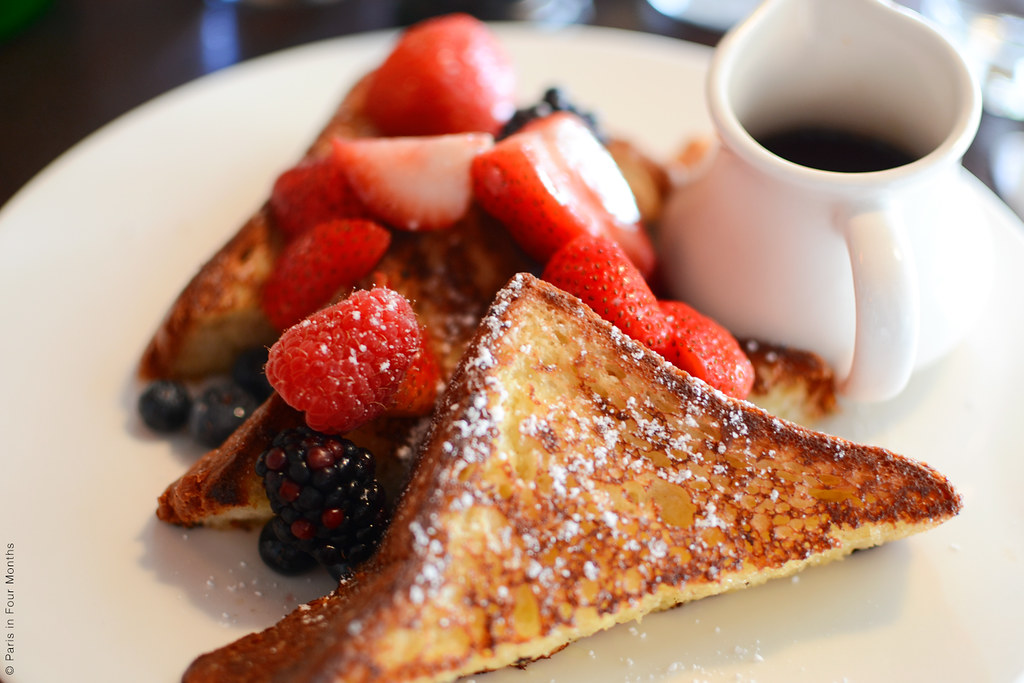 French Toast at Café Cluny