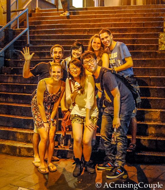 Couchsurfing Friends meetup Hong Kong