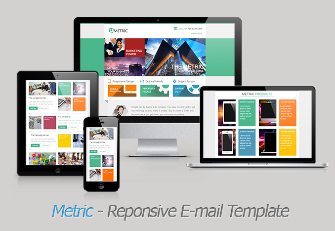 Metric - Responsive Email Template