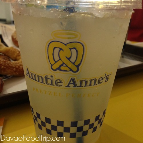 Launching of Auntie Anne's Pretzel Perfect at SM City Davao