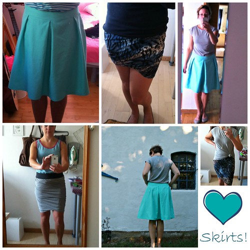 skirts by MariaDenmark