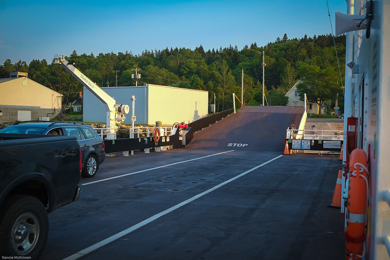 On The Deck, LaHave Ferry Brady E.jpg
