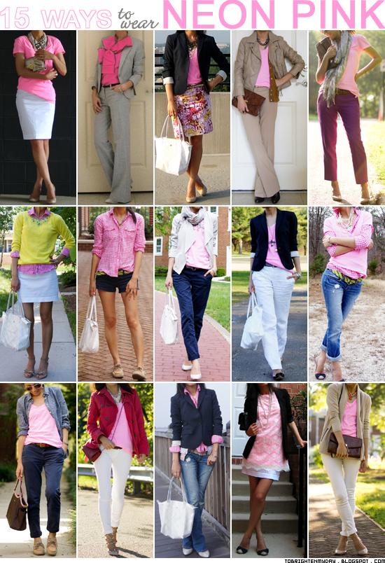 15 ways to wear neon pink