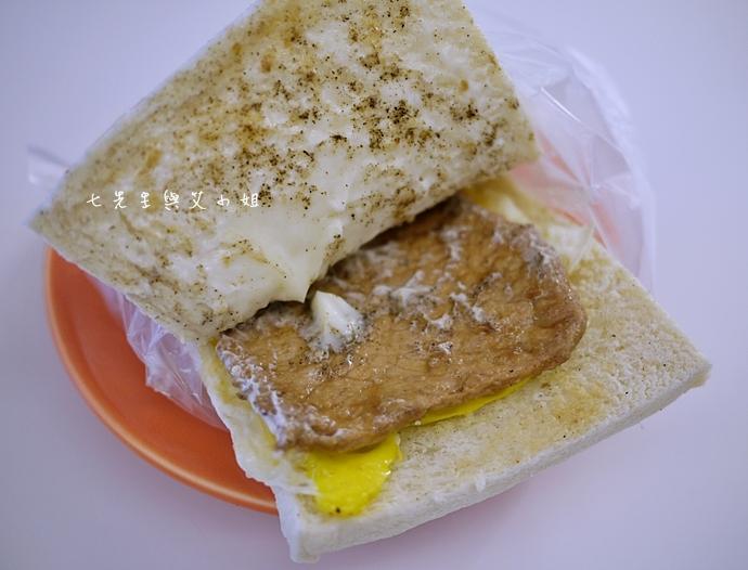 7 品品早餐肉蛋吐司