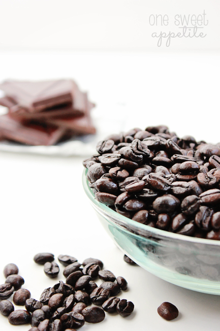 chocolate dipped coffee beans ingredients