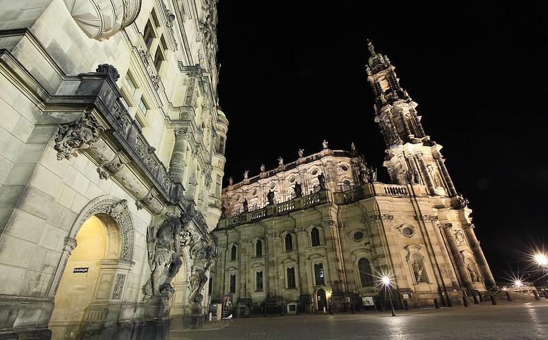 宮廷教堂夜景