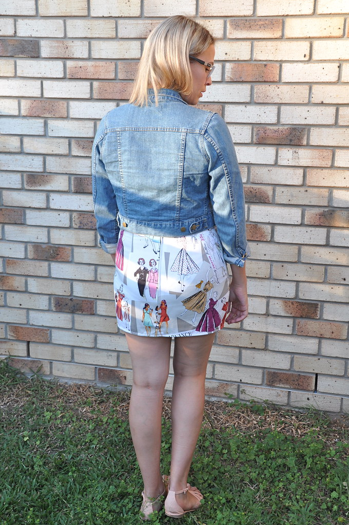 jenny burdastyle mini skirt