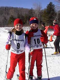 Kids cross country skiing at Sleepy Hollow Ski Center