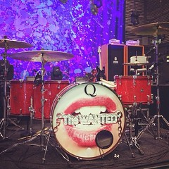 Regram of @turbonitro 's drums. I love this set.