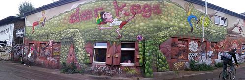 huge wall mural