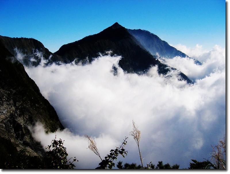 雲瀑與南大武