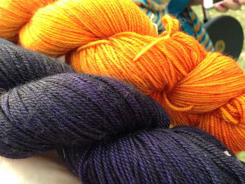 Rhinebeck 2013 tiger yarn