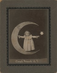 Little Girl on a Paper Moon