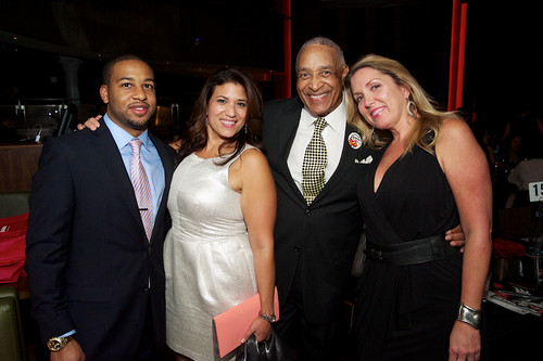Alix Montes of LM&O Advertiing, Louise Salas of LMS Creative, Ron Owens of Ron Owens & Associates, and Susy Jordan of Interface Media Group
