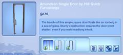 Amundsen Single Door by Hill Gulch Furnishings