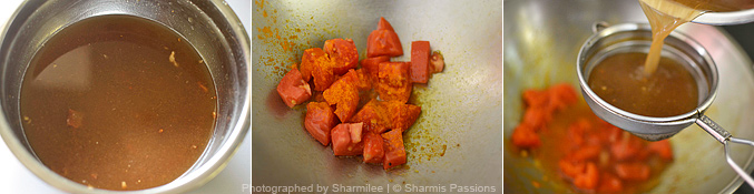 How to make rasam - Step1
