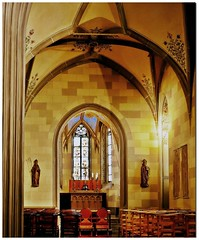 Sankt Michaels-Kapelle - Burg Hohenzollern, Württemberg, Deutschland
