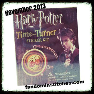 Fandom In Stitches November 2013 prize