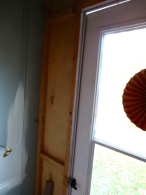 before - the front door alcove