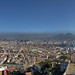 Full size 24876x9122 pixels!!! Napoli and the Vesuvio from Castel San'Elmo, Italia by Gaston Batistini