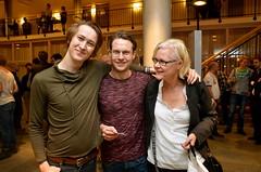 Brassbandfestivalen 2013 - Martin Isaksson, Per Ivarsson och Annette Forsberg (Foto: Olof Forsberg)