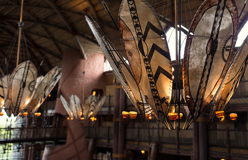 Chandeliers, Shields, And Bokeh Panos by Jeff.Hamm.Photography