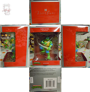 "AMERICAN GREETINGS :: TEENAGE MUTANT NINJA TURTLES - ""Leonardo"" Ornament iii / ..box (( 2013 ))"