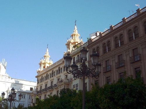 Stadtpalast an der Plaza Tendillas in Cordoba