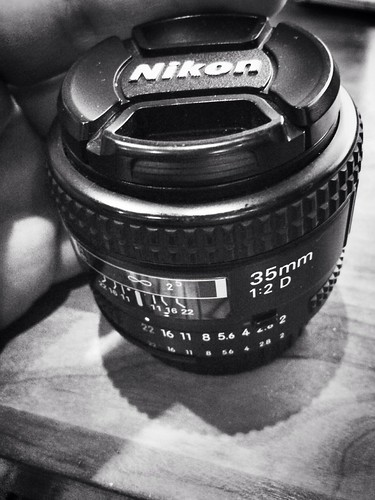 Gently Used Nikon 35mm lens