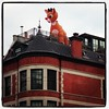 Rudolph spotted in Harlem! I knew Santa's most famous reindeer of all liked Harlem!