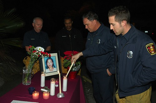 Candlelight Vigil for Eun Kang